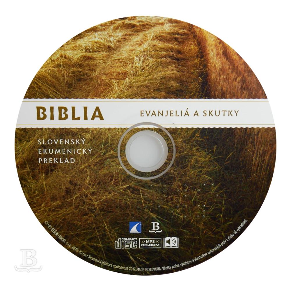 Audio Nová zmluva, Evanjeliá a Skutky, ekumenický preklad, CD 7