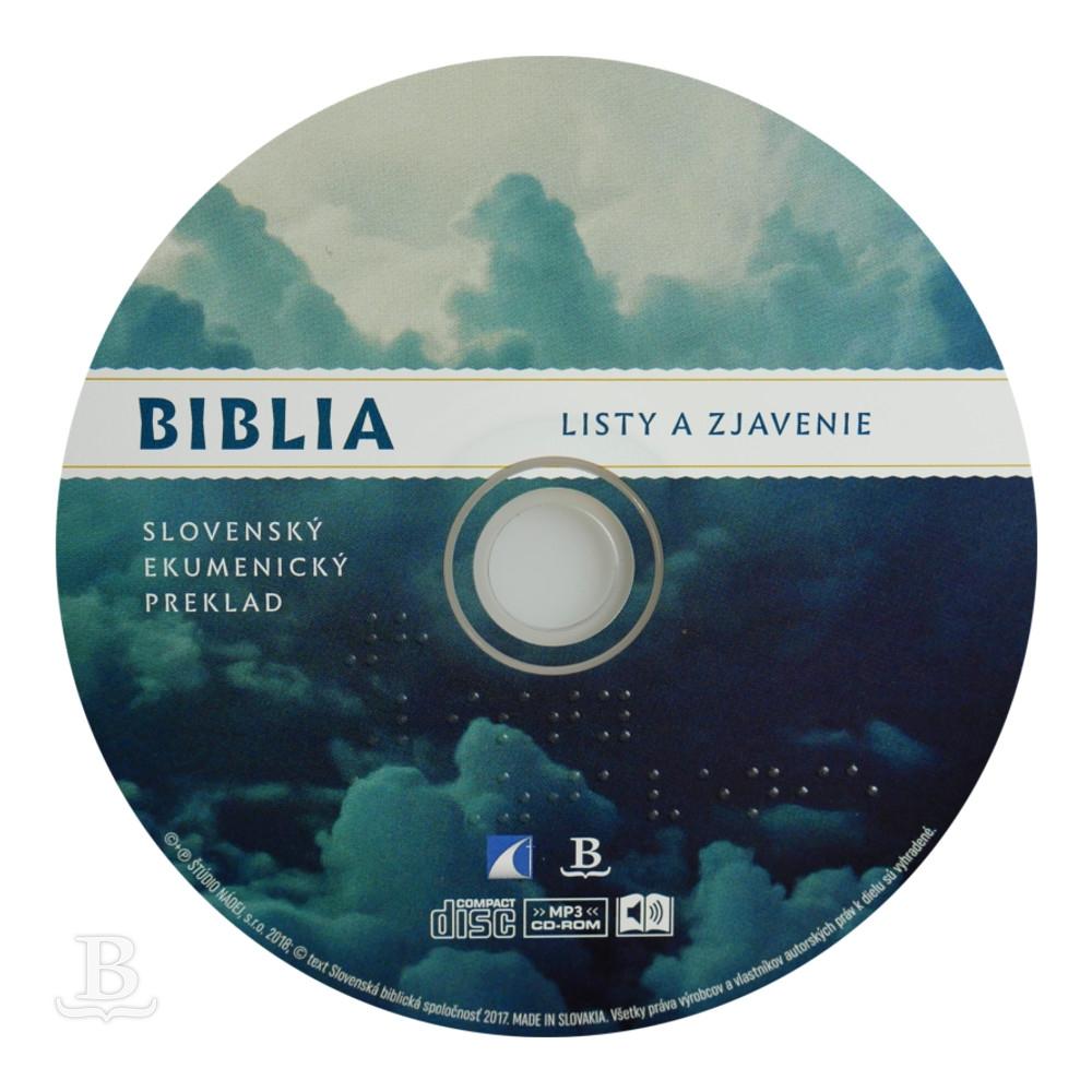 Audio Nová zmluva, Listy a Zjavenie, ekumenický preklad, CD 8