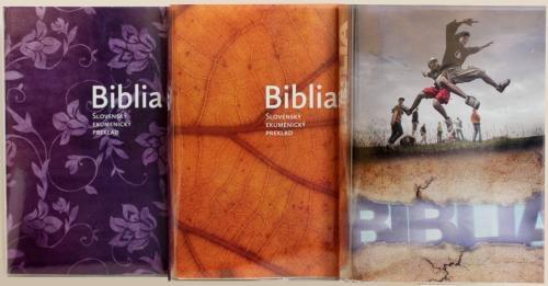 Vymeniteľné obaly pre ekumenickú Bibliu – 1. sada