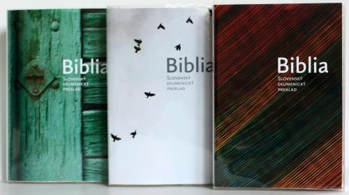 Vymeniteľné obaly pre ekumenickú Bibliu - 2. sada