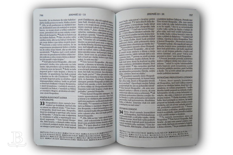 Biblia slovenská, ekumenický preklad s DT, štandardný formát, 2018
