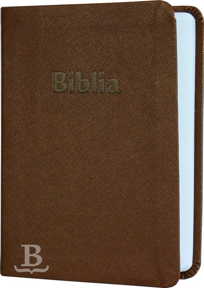 Biblia slovenská, ekumenický preklad, vreckový formát, hnedá, 2018