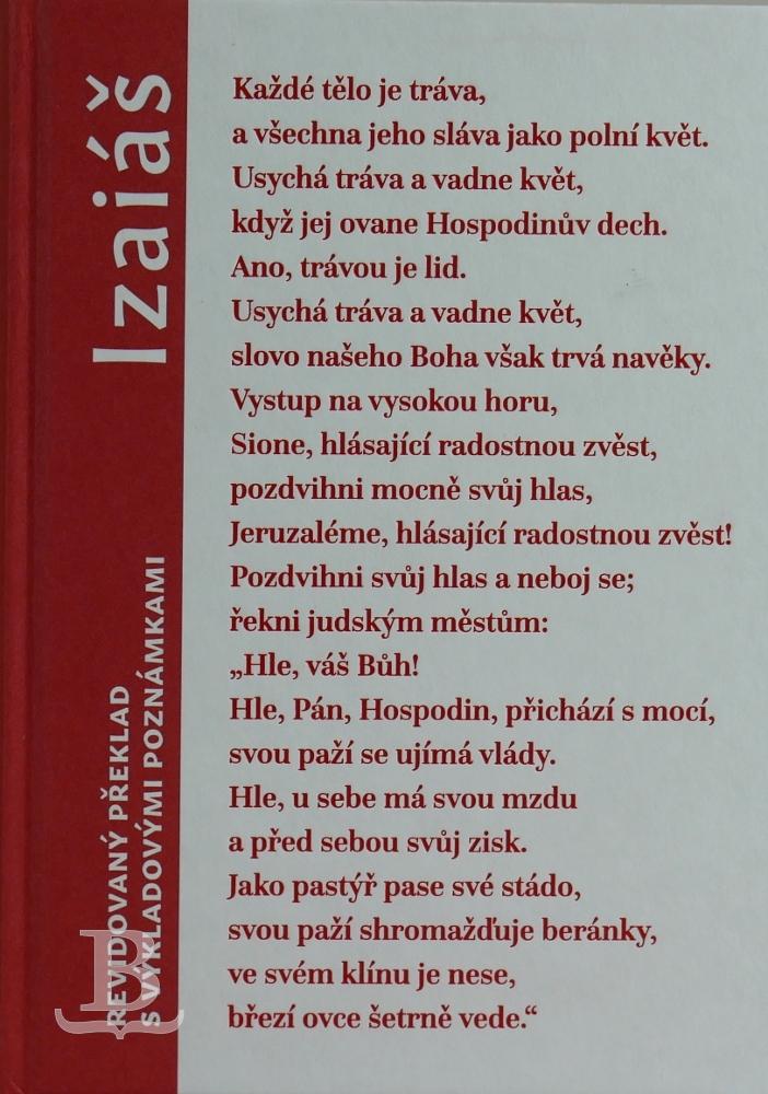 Izaiáš, revidovaný preklad s výkladovými poznámkami