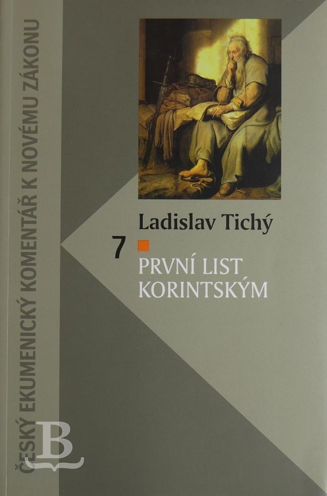 První list Korintským, Český ekumenický komentář k NZ