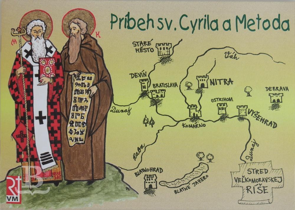 Príbeh sv. Cyrila a Metoda, maľovanka