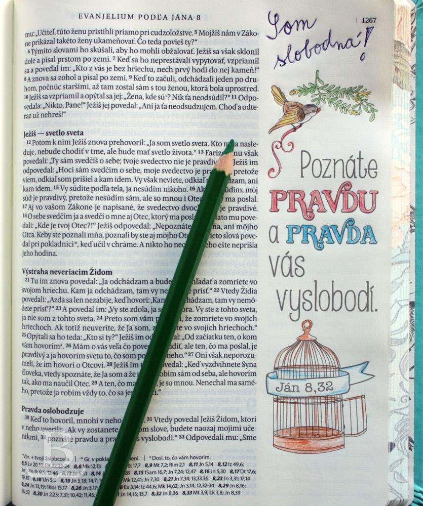 Poznámková Biblia - Inšpiruj sa...