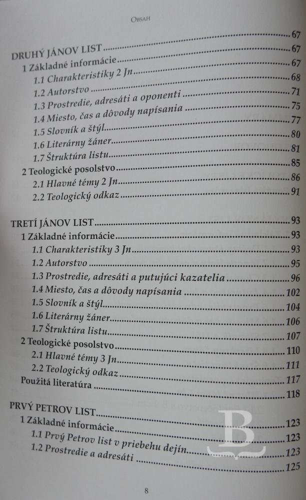 Úvod do katolíckych listov Nového zákona