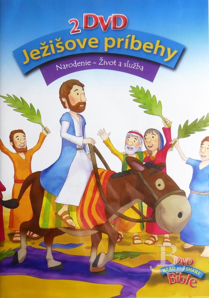 Ježišove príbehy (2 DVD)