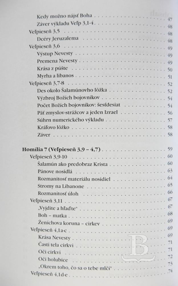 Výklad Veľpiesne (2. časť)