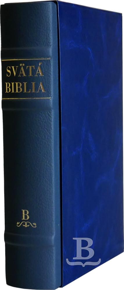 Biblia slovenská, Roháček, rodinný formát, koža
