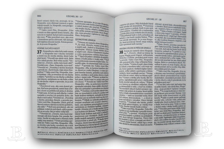 Biblia slovenská, ekumenický preklad, vreckový formát, paperback, 2019