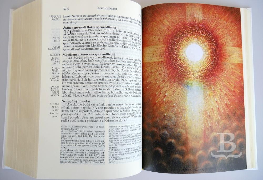 Sväté písmo, Jeruzalemská Biblia, so zlatou oriezkou strán, 2017