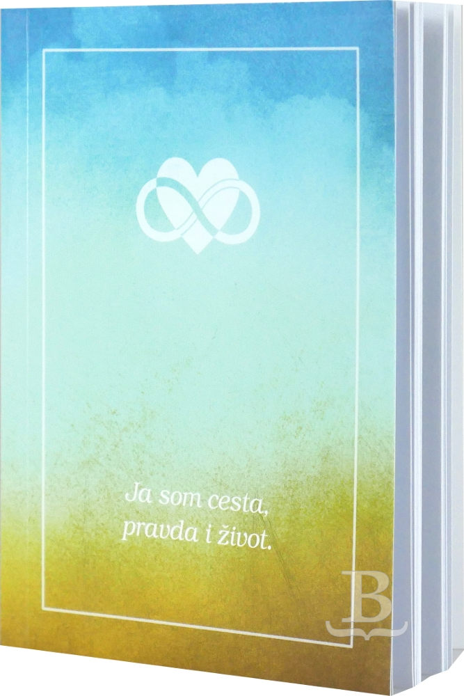Evanjelium podľa Jána, Slovenský ekumenický preklad, brožúra, farebné pozadie