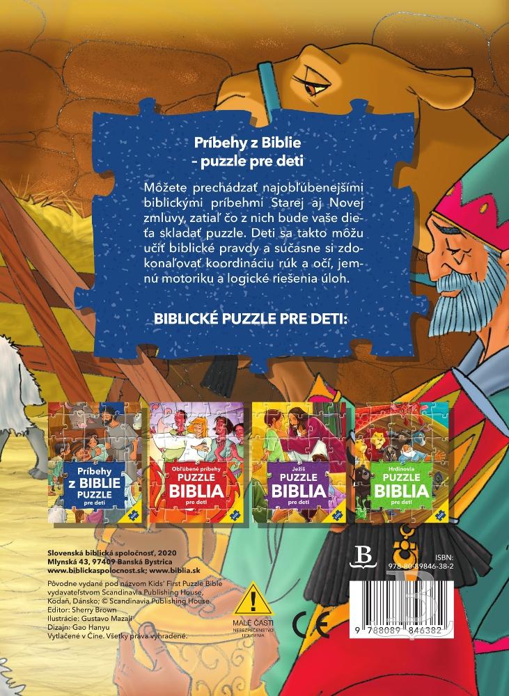 Príbehy z Biblie - Puzzle pre deti