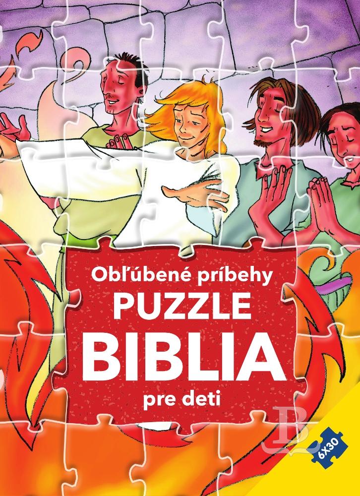 Obľúbené príbehy - Puzzle Biblia pre deti