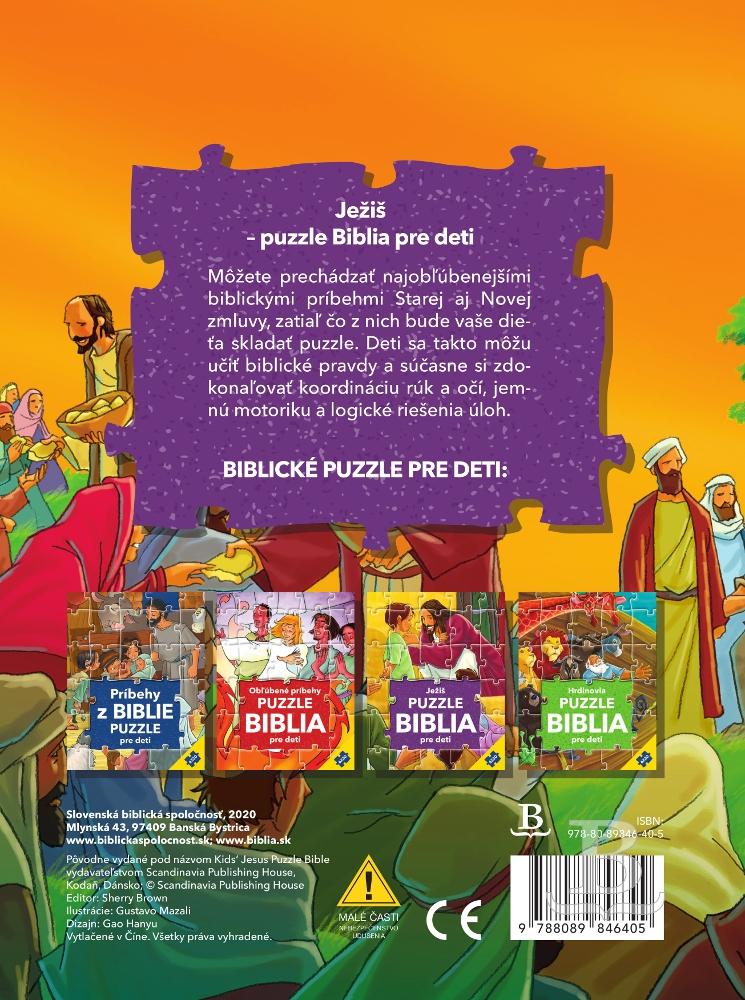 Ježiš - Puzzle Biblia pre deti