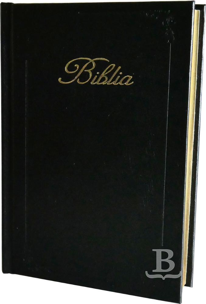 Biblia slovenská, evanjelická, štandardný formát, so zlatou oriezkou strán