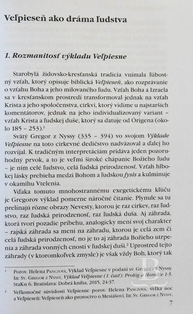 Výklad Veľpiesne (3. časť)