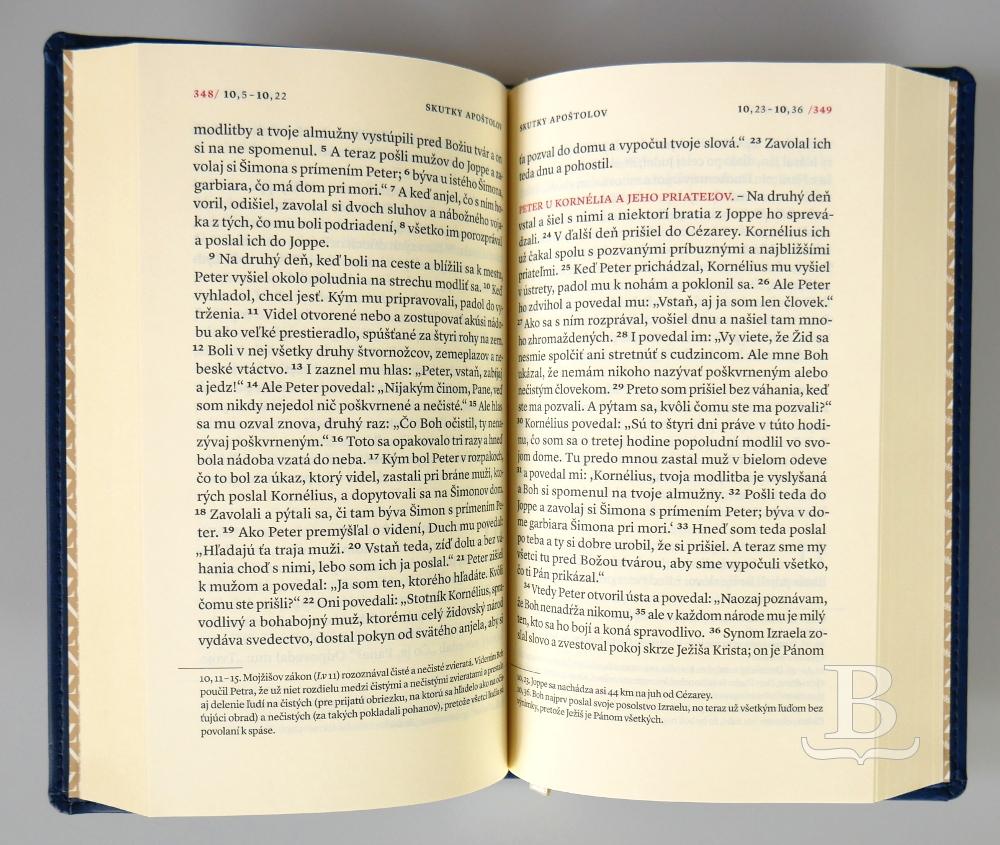 Nový zákon, Katolícky preklad, mäkká väzba, modrá