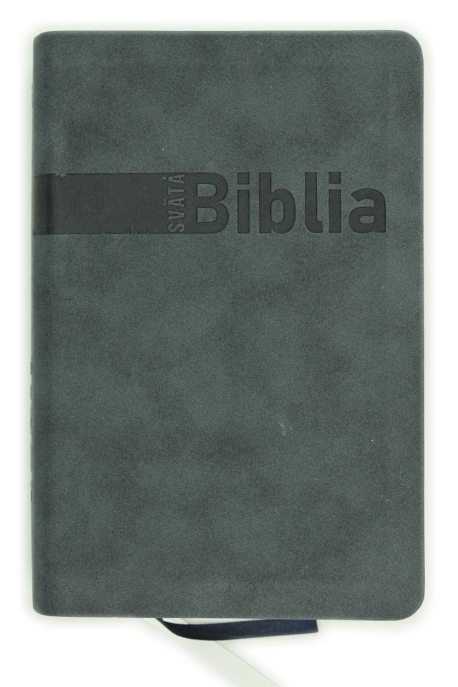 Biblia, Roháčkov preklad, 2020, tmavosivá, s indexmi