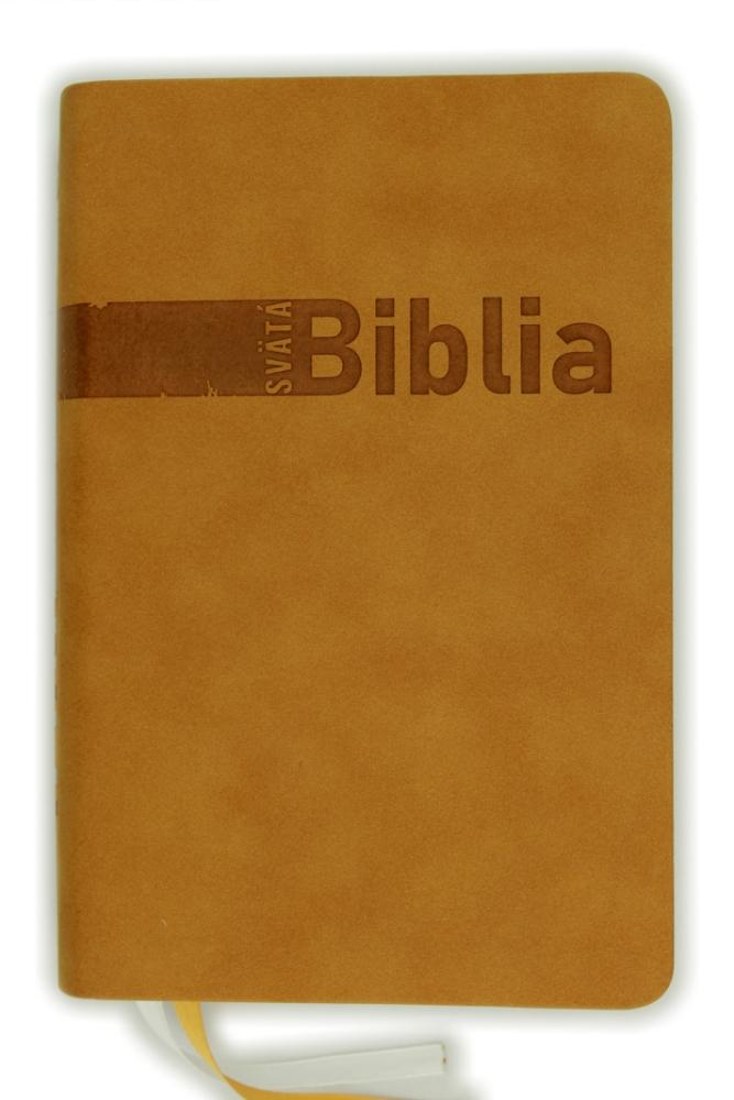 Biblia, Roháčkov preklad, 2020, svetlohnedá, s indexmi