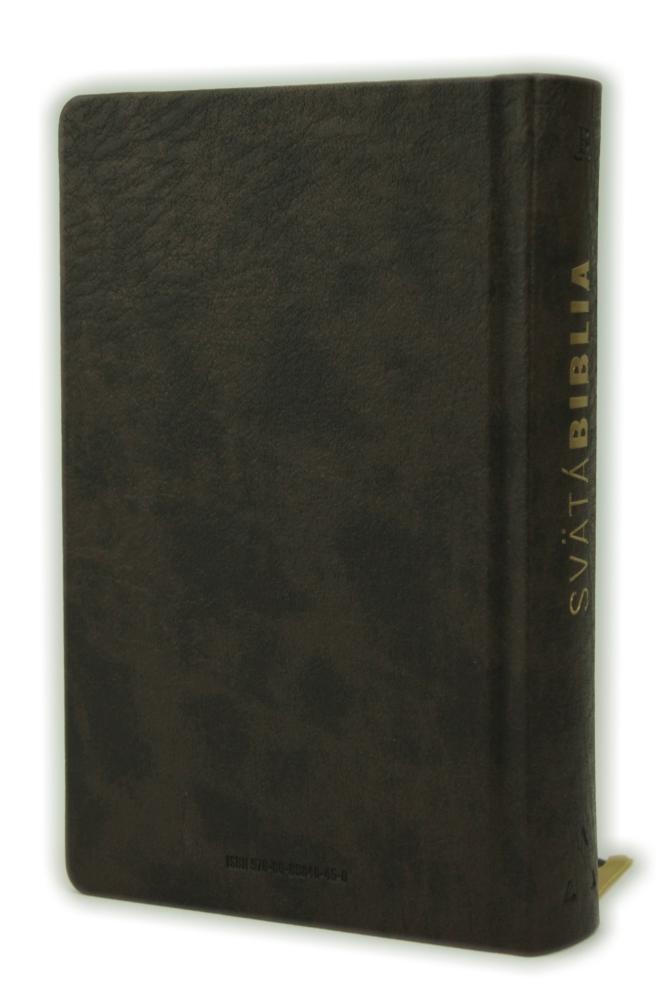 Biblia, Roháčkov preklad, 2020, tmavohnedá, pevná väzba, s indexmi
