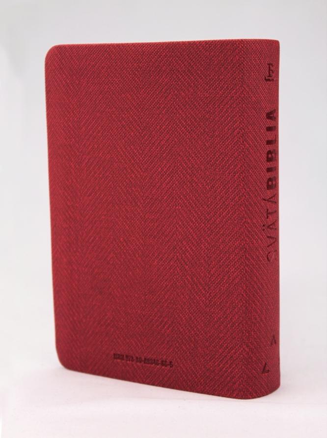 Biblia, Roháčkov preklad, 2020, vreckový formát, červená