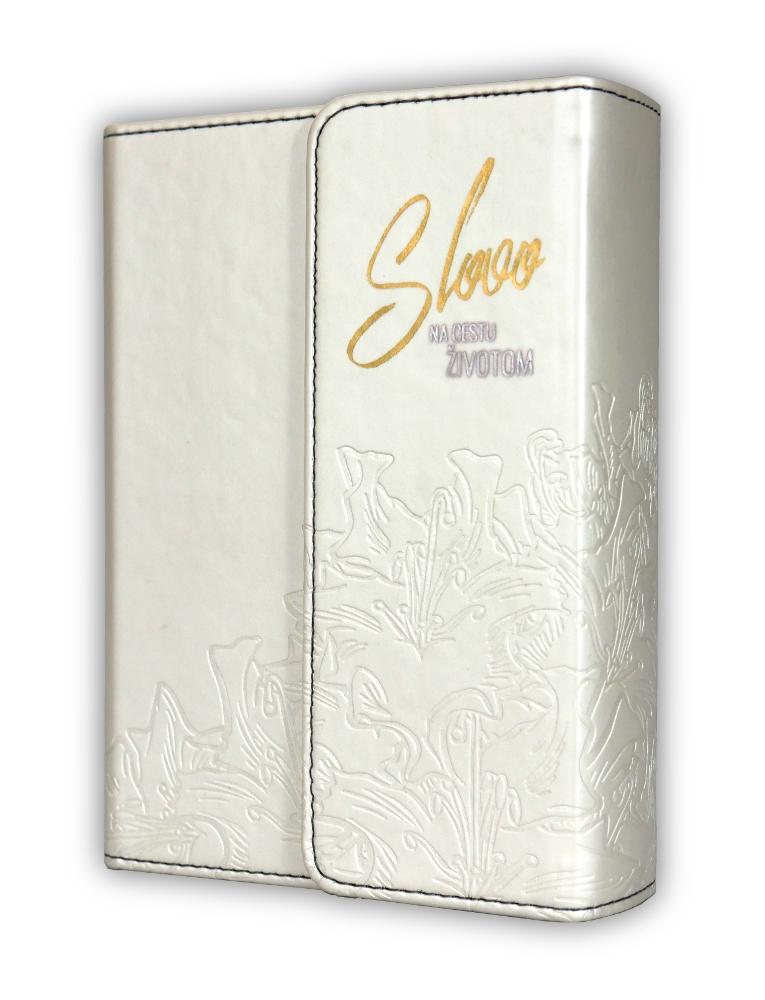 Biblia, ekumenický preklad, edícia SLOVO, 2020, vreckový formát, biela, s magnetom