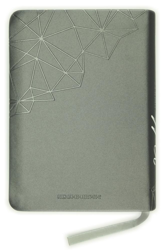 Biblia, ekumenický preklad, edícia SLOVO, 2020, vreckový formát, sivá