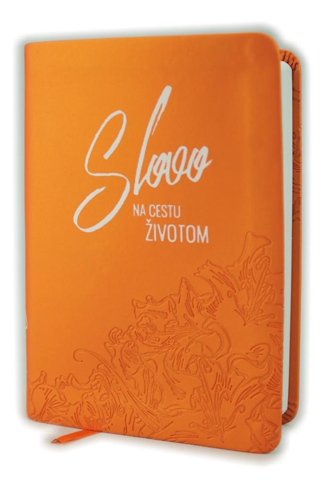 Biblia, ekumenický preklad, edícia SLOVO, 2020, vreckový formát, oranžová